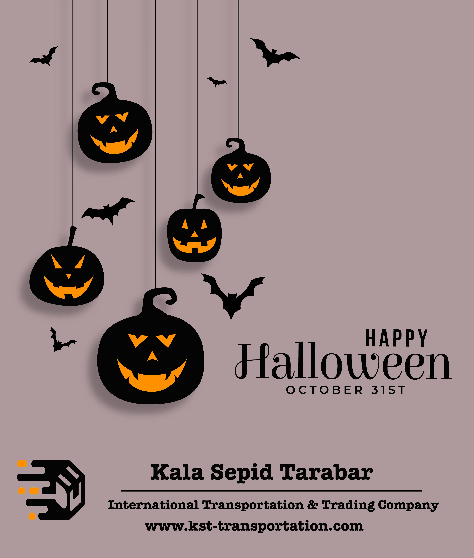 happy Halloween, kala sepid tarabar, international trading and transport company, international logistic company, iranian logistic company, iranian transport company
